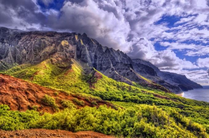 """<p class=""""Normal""""> <strong>Kalalau Trail, Kauai, Hawaii</strong><span>: thiên nhiên tuyệt đẹp dọc theo đường mònKalalau Trail dẫn đến biển Kauai có thể sẽ là động lực để bạn vượt qua thử thách trên quãng đường đi bộ.</span></p>"""
