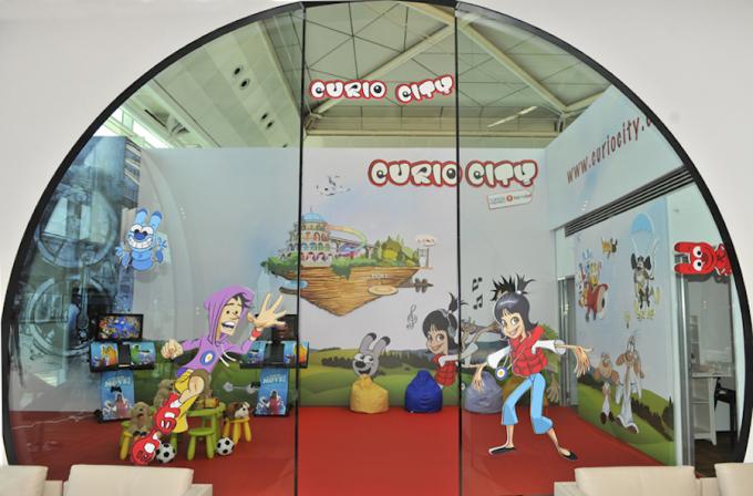 """<p class=""""Normal""""> Ngay cả những đứa trẻ cũng sẽ không buồn chán với khu vui chơi dành cho trẻ em. Ảnh: <em>Turkish Airlines.</em></p>"""
