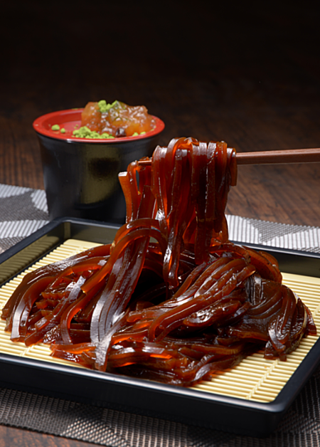 Coffee noodles - the latest cooling dish in Japan