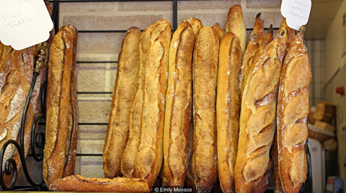 Baguette bread - the pride of French cuisine