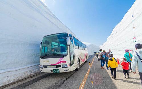 Xe buýt được rất nhiều người chọn khi du lịch Nhật Bản.Ảnh:Tokyo Weekender.