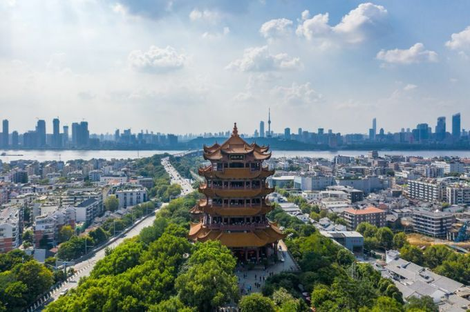 Wuhan is the most wanted to visit