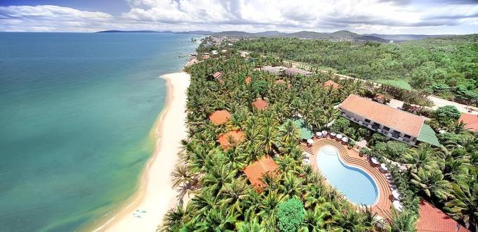 Một góc khu nghỉ dưỡng Sài Gòn – Phú Quốc thuộc Saigontourist Group