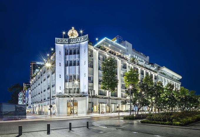 Khách sạn 5 sao Rex Saigon thuộc Saigontourist Group