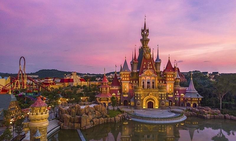 Khai trương công viên chủ đề lớn nhất Việt Nam