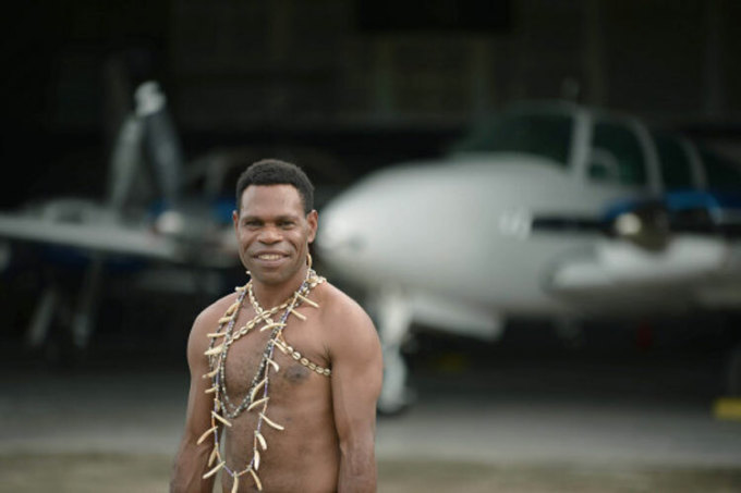 Hành trình trở thành phi công của một thổ dân