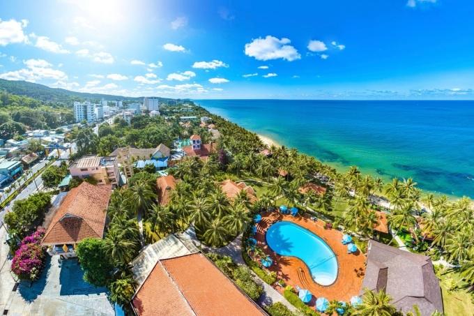 Những khu nghỉ dưỡng với bãi biển riêng là lựa chọn của nhiều du khách. Ảnh: Shutterstock.