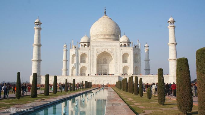Taj Mahal, Ấn ĐộNơi này trông đẹp hơn trên ảnh