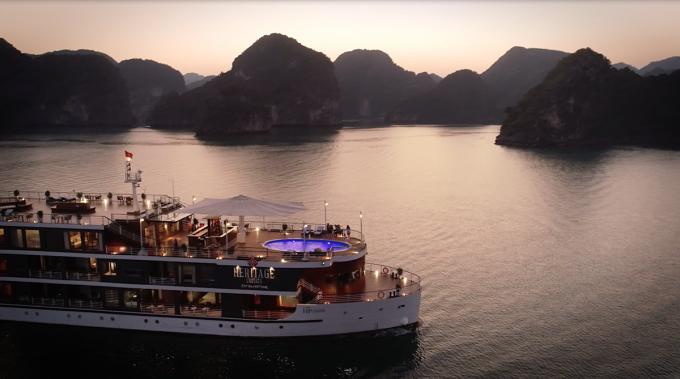 Theo ông Phạm Hà, các du thuyền của Lux Group đã được đặt hết từ nay đến tháng 9/2020. Ảnh: Thanh Sơn.