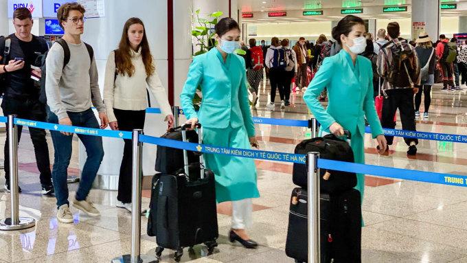 Việt Nam là điểm đến được tìm kiếm nhiều nhất cho các chuyến bay quốc tế ở châu Âu, khi các nền kinh tế phục hồi từ đại dịch. Ảnh: AP.