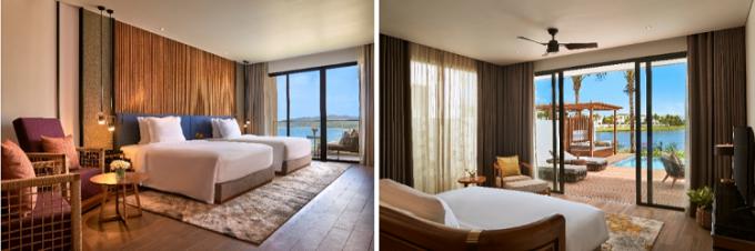 Mövenpick Resort Phú Quốc có quy mô 713 phòng với nhiều lựa chọn phong phú cho du khách.