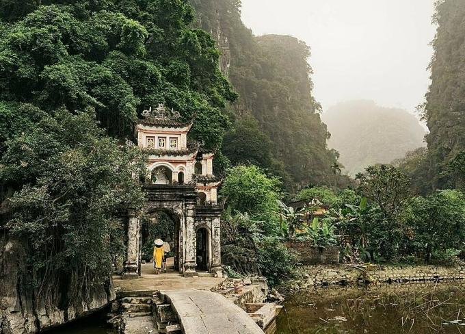 Cách Cúc Phương không xa là chùa Bích Động, Tam Cốc, nơi sinh sống của rất nhiều loài chim. Vào mùa hè, những đàn cò, vạc sẽ kéo về đây làm tổ.
