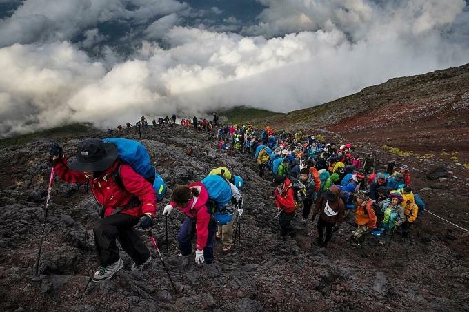 Vì sao núi Phú Sĩ là biểu tượng nước Nhật