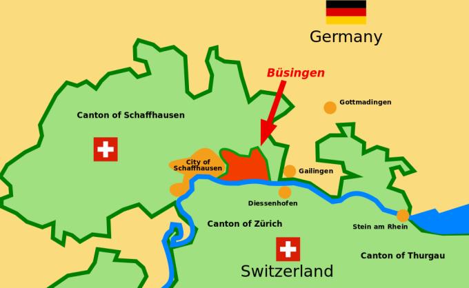 Nơi người Đức chỉ thích thành dân Thụy Sĩ