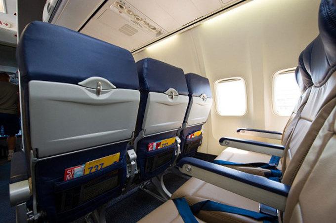 Túi ghế là nơi hành khách để mọi thứ của họ vào bên trong, từ khăn giấy bẩn, đồ ăn, chai nước, điện thoại... Ảnh: Upgrade travelbetter.