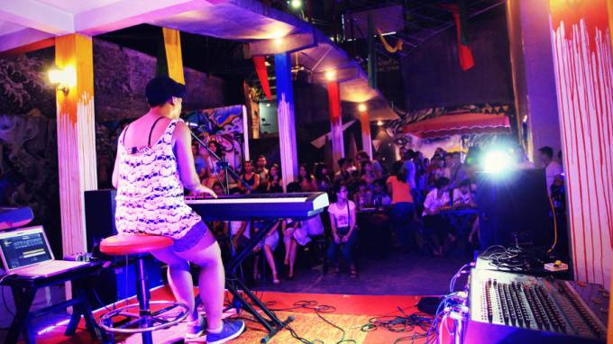 Một đêm nhạc đương đại tại Hanoi Rock City. Ảnh: Hanoi Rock City.