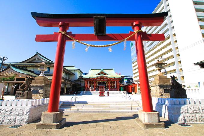 Đền thờ Anamori Inari ngày nay. Ảnh: OTA City Japan.