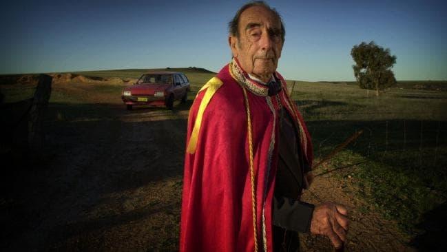 Hoàng tử Leonard - người sáng lập ra Hutt River, vi quốc gia lâu đời nhất tại Australia. Ảnh: News Limited.