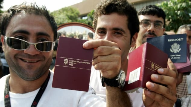 Những người cầm hộ chiếu Thụy Sĩ