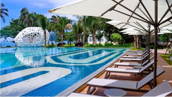 Coral Deck với thiết kế lấy cảm hứng từ vẻ đẹp của những rặng san hô ở Côn Đảo.