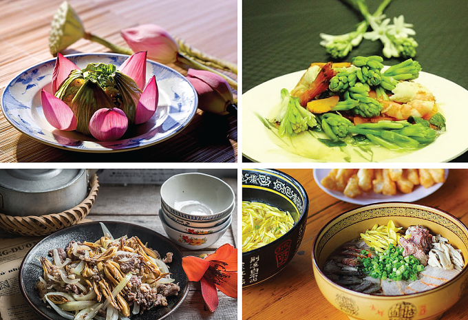 Vietnam - The country owns the world's most dishes make from flowers.(There are 272 dishes make from 43 different flowers and being continually updated)
