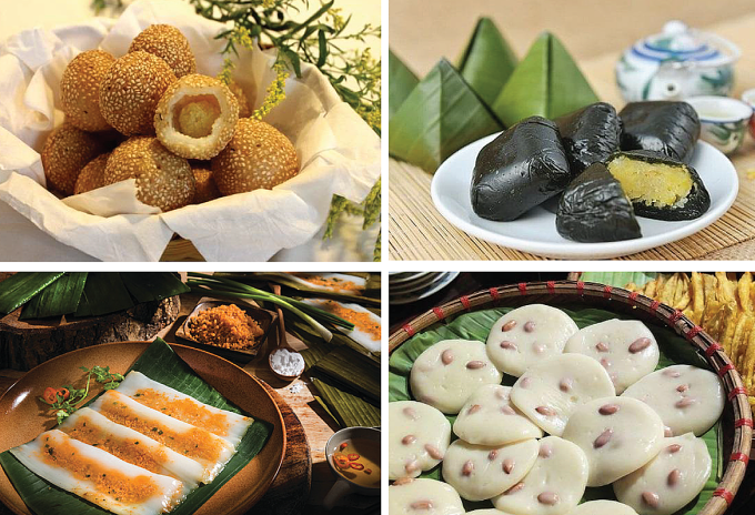 Vietnam - The country owns the world's most dishes make from rice flour.(There are 143 dishes and being continually updated)