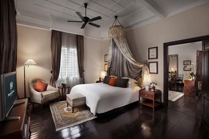Không gian phòng tại khách sạn Sofitel Legend Metropole Hanoi. Ảnh: Sofitel Legend Metropole Hanoi