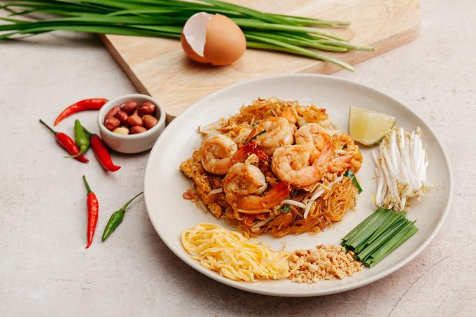 Pad Thai  được nhiều thực khách đánh giá ngon món nổi bật tại TukTuk.