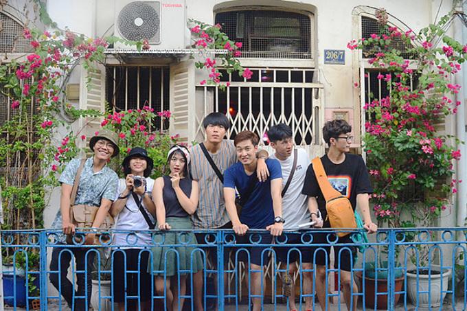 Hẻm Hào Sỹ Phường là nơi sinh sống của người Hoa nhưng sau này, nhiều gia đình chuyển đi nơi khác và bán lại nhà. Khu nhà này được xây dựng từ khoảng năm 1910. Ảnh: Di Vỹ