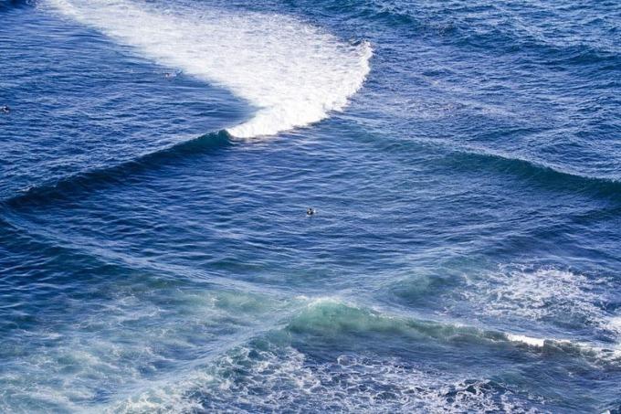 Tắm tại vùng biển giao nhau không quá nguy hiểm. Ảnh: Flipboard