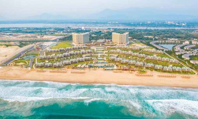 Toàn cảnh Alma resort Khánh Hòa.