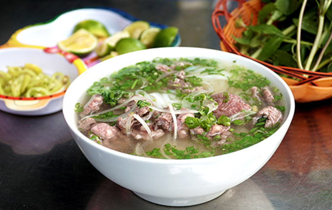 Từ lâu, phở đã trở thành món ăn được nhiều người Việt ưa thích. Ảnh: Di Vỹ