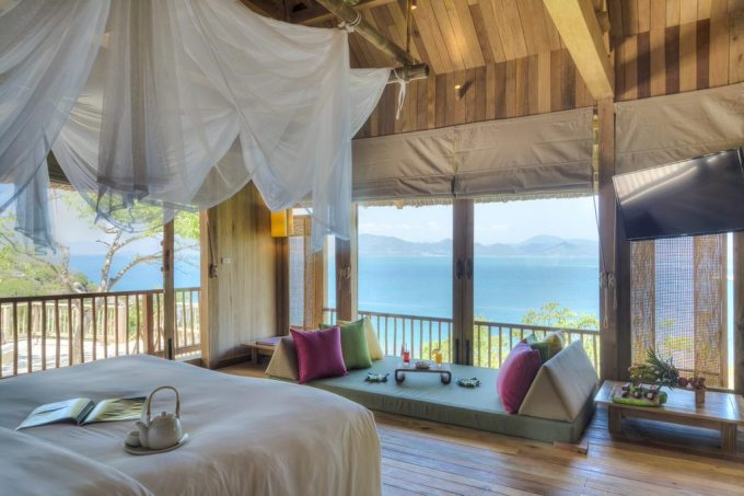 Six Senses Ninh Van Bay. Ảnh: Booking.com.