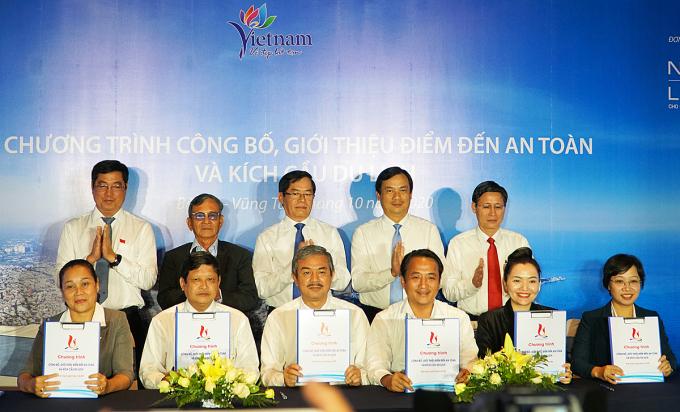 Các tỉnh thành miền Đông Nam Bộ ký thỏa thuận tham gia chương trình Công bố, giới thiệu điểm đến an toàn và kích cầu du lịch, chiều 2/10.