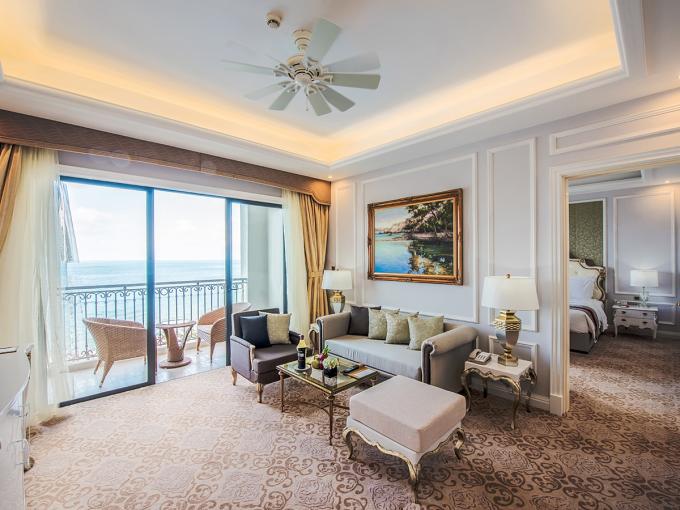 Khách sạn Vinpearl Condotel Beachfront Nha Trang. Ảnh: Vietnam Booking.