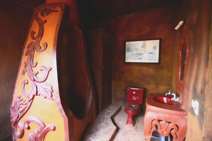 Ngôi nhà xây bằng đất đỏ ở Đà Lạt - 14