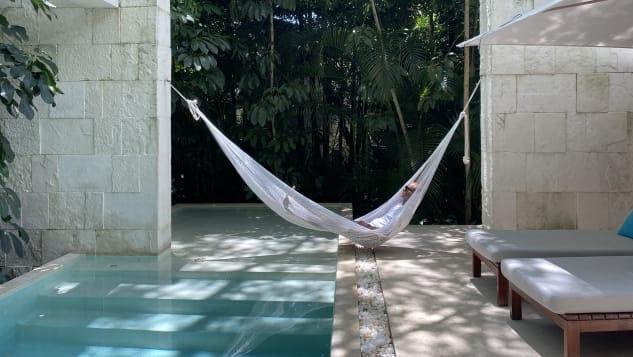 David Roby, chồng của Jackie Roby trong chuyến du lịch ở Mexico thông qua sự giúp đỡ của công ty du lịch. Ảnh: Jackie Roby/CNN