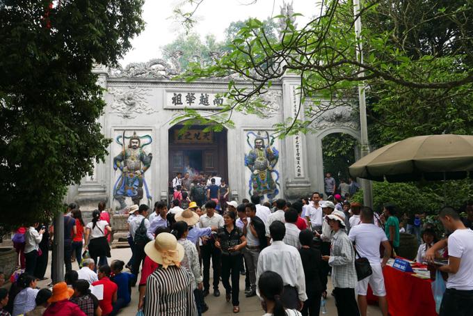 Đền Hùng luôn là điểm đến của du khách mỗi khi tới Phú Thọ. Ảnh: Quý Đoàn