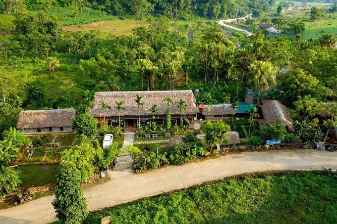 Ở xã Xuân Sơn hiện đang có 8 hộ dân kinh doanh homestay. Ảnh: Đức Minh