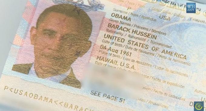Tổng thống Mỹ có cần hộ chiếu không?