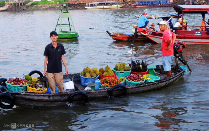 Cai Rang Floating Market - a highlight that is hard to ignore when traveling to Can Tho.  Photo: Khanh Tran