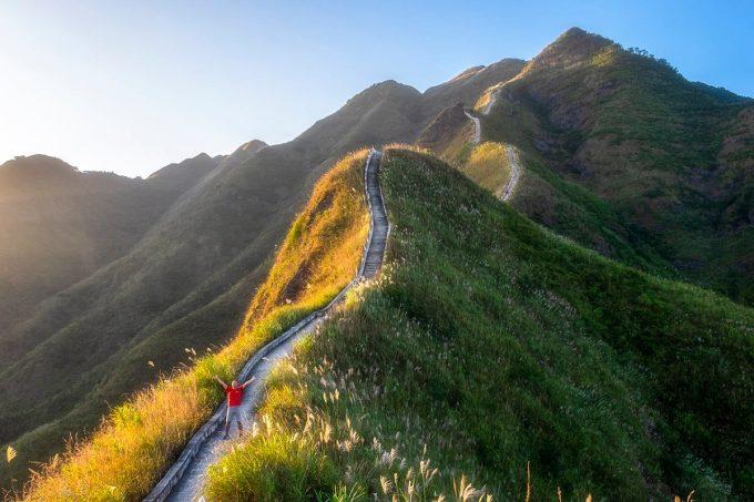 Mùa cỏ lau tại Bình Liêu là một trong những sản phẩm hấp dẫn du khách trải nghiệm.