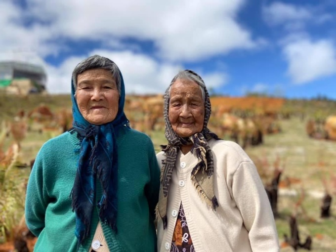 A set of photos of two old people checking in Da Lat in the afternoon appeared online on January 7.  Mr. Nguyen Tan Sang, the owner of the photo series, did not expect to create such a good effect.  The photo set attracts thousands of likes and shares on social networking sites.