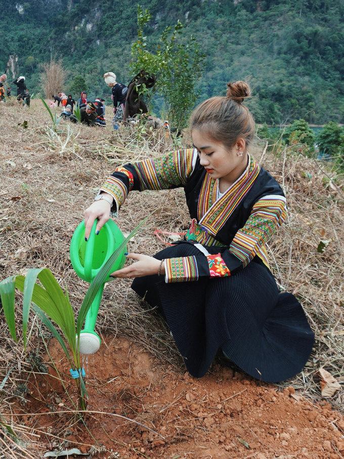 Asia Hui 1 Bui Minh Anh is from Dak Nong.  Photo: Ngan Duong