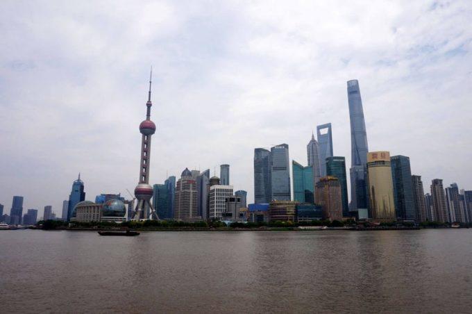 Thượng Hải nằm trên sông Hoàng Phố, đến nay thành phố đã phát triển và mở rộng đến tận sông Dương Tử và biển Hoa Đông. Ảnh: The Biggest Cities in China