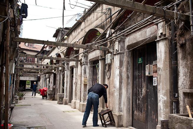 Các Shikumen tại Thượng Hải được bảo tồn đến ngày nay. Ảnh: Shanghai Street Stories