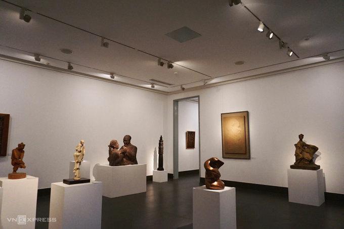 Mừng Xuân Tân Sửu 2021, Bảo tàng Mỹ thuật Việt Nam tổ chức triển lãm điêu khắc Mùa xuân đất nước.