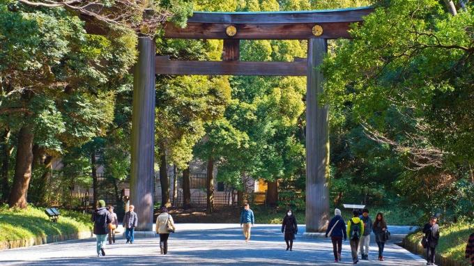 Thành phố từng là một làng chài nhỏ có tên là Edo, được thành lập vào năm 1603 và sau đó trở thành nơi đóng quân của Mạc phủ Tokugawa. Sau đó, dân cư tăng lên nhanh chóng. Trong thế kỷ 18, hơn 1 triệu người sống ở Edo. Năm 1868, thành phố chính thức được đổi tên thành Tokyo, có nghĩa là Thủ đô phía Đông. Ảnh: Alamy