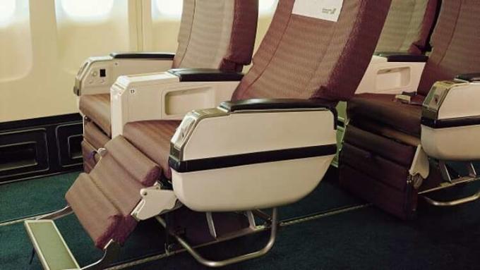 [Ghế phổ thông đặc biệt của hãng EVA Air. Ảnh: EVA Air