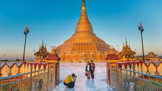 Đối với những người đã chán ghét đám đông tại các ngôi chùa ở Đông Nam Á trước đại dịch, chùa Uppatasanti là một nơi hoàn hảo. Ảnh: Alamy